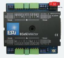 ESU 50094 ECoSDetector visszajelentő-modul, 16 db bevezetés, therefrom 4 RailComŽ feedbacks.