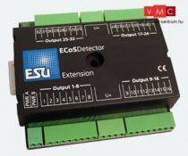 ESU 50095 ECoSDetector hosszabbítómodul, 32 digitális kimenet 100mA izzókhoz vagy LEDekhez,