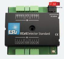 ESU 50096 ECoSDetector Standard visszajelentő-modul 3-digit operation, 16 digital bevezetés,