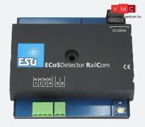 ESU 50098 ECoSDetector RC Rückmeldemodul, 4 RailCom-Eingänge. Für 2 und 3-Leiterbetrieb, Opt