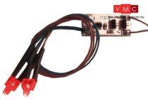 ESU 50705 Végzár világítás, 2 db vörös LED, fényerősség állítható (UNI)