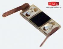 ESU 50707 Kerékérintkező belső világításhoz (8 db), DC + AC (N / TT / H0)