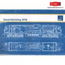 ESU 52949 Katalógus ESU 2016, német nyelven, 152 oldalon