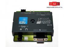 ESU 53451 LokProgrammer, 240V tápegység, vezetékek, használati útmutató, CD-Rom, USB adap