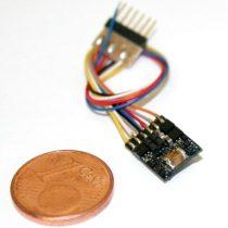 ESU 54684 LokPilot micro V4.0, DCC, 6-tűs NEM651 csatlakozóval, vezetékes ()
