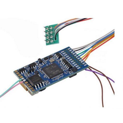 ESU 58410 LokSound 5 hangdekóder (üres), DCC/MM/SX/M4, NEM652 8-tűs foglalathoz (11×15 mm h