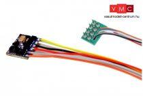 ESU 59120 Funkciódekóder LokPilot 5 FX micro DCC, 8-tűs NEM652 foglalathoz (TT/N)