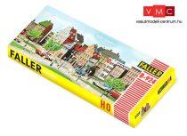 Faller 109924 B-924 Nagyvárosi történelmi városrész, emeletes lakóházak városfallal (H0