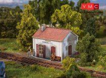 Faller 110202 Olasz vasúti megállóhely Stamperia (H0), gyárilag koszolt - LC