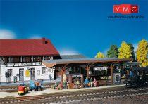 Faller 120189 Állomási faszerkezetes peron, kiegészítőkkel
