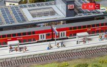 Faller 120202 Modern állomási peron kiegészítőkkel (H0)
