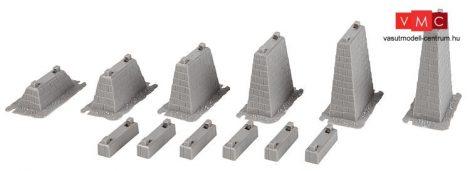 Faller 120472 Emelkedő pillérkészlet (6 db), 15 - 75 mm