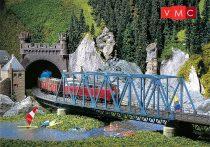 Faller 120560 Acélrácsos vasúti híd, 376 mm