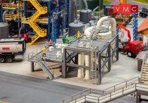 Faller 130179 Rácsos ipari tartályberendezés csővezetékrendszerrel (H0)