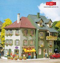 Faller 130414 Emeletes kisvárosi sorház saroképülettel (2 db)