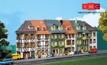 Faller 130430 Emeletes kisvárosi sorházak (6 db), felezett háttérházak