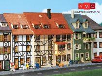 Faller 130431 Emeletes kisvárosi sorházak (2 db), felezett háttérházak