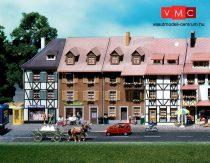 Faller 130432 Emeletes kisvárosi sorházak (2 db), felezett háttérházak