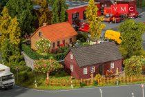 Faller 130507 Észak-német klinkertéglás családi házak, 2 db (H0)