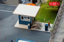 Faller 130626 Modern portaépület túlnyúló tetővel (H0)