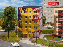 Faller 130800 Lakótelepi tömbház, 4 emeletes - CarstenKruse design (H0)