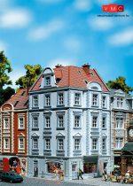 Faller 130906 Emeletes nagyvárosi sarokház, Goethestrasse 63.