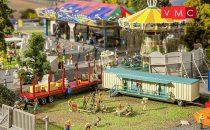 Faller 140482 Mozgó vidámpark pótkocsi-pár III.