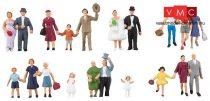 Faller 150939 Esküvői résztvevők (H0)