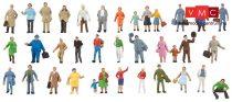 Faller 155358 Kiegészítő figurakészlet, 36 db (N)