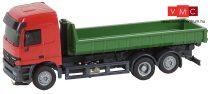 Faller 161481 Car-System: Mercedes-Benz Actros L 02 teherautó, legördíthető konténerrel -
