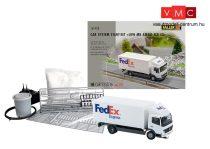 Faller 161488 Car-System kezdőkészlet: Mercedes-Benz Atego dobozos teherautó, FedEx (Herpa)