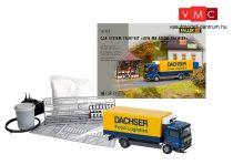 Faller 161489 Car-System kezdőkészlet: Mercedes-Benz Atego ponyvás teherautó, Dachser (Herp