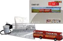 Faller 161498 Car-System kezdőkészlet: MB O317k városi busz, Jägermeister (Brekina)