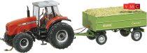 Faller 161536 Car-System: Massey Ferguson traktor pótkocsival (Wiking)