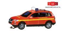 Faller 161544 Car-System: Volkswagen Touareg rendőrautó (Wiking), villogó fénnyel