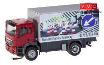 Faller 161554 Car-System: MAN TGS dobozos teherautó, műhelykocsi (HERPA) (H0)
