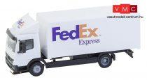 Faller 161592 Car-System: Mercedes-Benz Atego 2004 dobozos teherautó, FedEx (HERPA) (H0)
