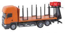 Faller 161634 Car-Scania: Scania R13 rönkszállító teherautó (HERPA) (H0)