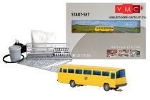 Faller 162008 Car-Sytem kezdőkészlet: Mercedes-Benz O302 autóbusz, Postbus (N)