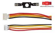 Faller 163758 Car System Digtial: LED világítás pótkocsikhoz, csatlakozókábellel (H0)