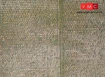 Faller 170601 Karton dekorlap: Kockakő