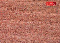 Faller 170607 Karton dekorlap: Klinkertégla