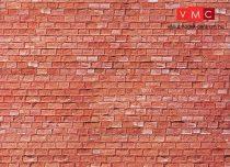 Faller 170613 Karton dekorlap: Homokkő, vörös
