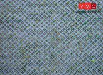 Faller 170625 Karton dekorlap: Beton gyeprács (H0)