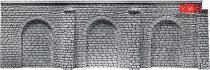 Faller 170896 Dekorlap: Árkádos támfal pillérekkel