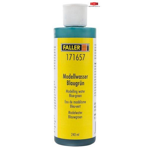 Faller 171657 Modellvíz, kékeszöld színben, 240 ml
