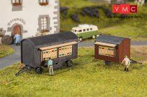 Faller 180385 Pótkocsik kaptárakkal, 2 db (H0)