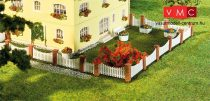 Faller 180429 Kerítés készlet téglaoszlopokkal