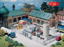 Faller 180433 Ipari fémkerítés kapuval