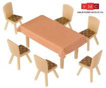 Faller 180442 Éttermi asztalok és székek készlet